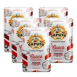 Flour Caputo Mehl Cuoco Red Typ 00 - Original pizza flour from Naples 5x1kg